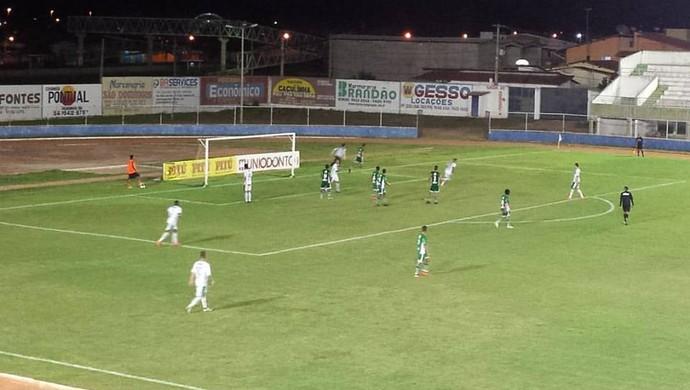 Baraúnas 2 x 0 Alecrim - Estádio Nazarenão - Campeonato Potiguar 2016 (Foto: Divulgação//Baraúnas)