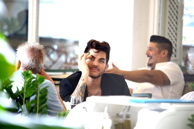 Adam Lambert (Foto: Gabriel Reis / Ag. News)