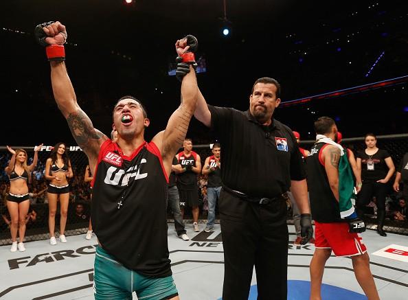Alejandro Perez final TUF América Latina UFC (Foto: Josh Hedges/Zuffa LLC)