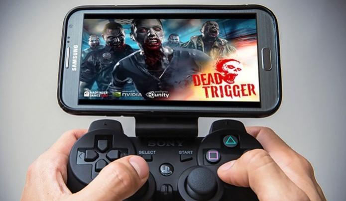 É possível configurar o controle do Playstation 3 para funcionar em jogos do Android e iOS (Foto: Divulgação / GameKlip) (Foto: É possível configurar o controle do Playstation 3 para funcionar em jogos do Android e iOS (Foto: Divulgação / GameKlip))