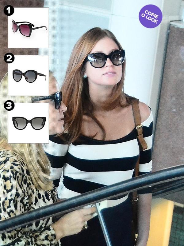 0e16357a41a09 Ego - Inspire-se nos óculos escuros de 10 famosas estilosas para o ...