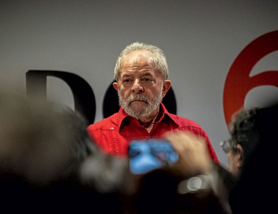 O ex-presidente Lula (Foto:  Suamy Beydoun/AGIF/AF´P)