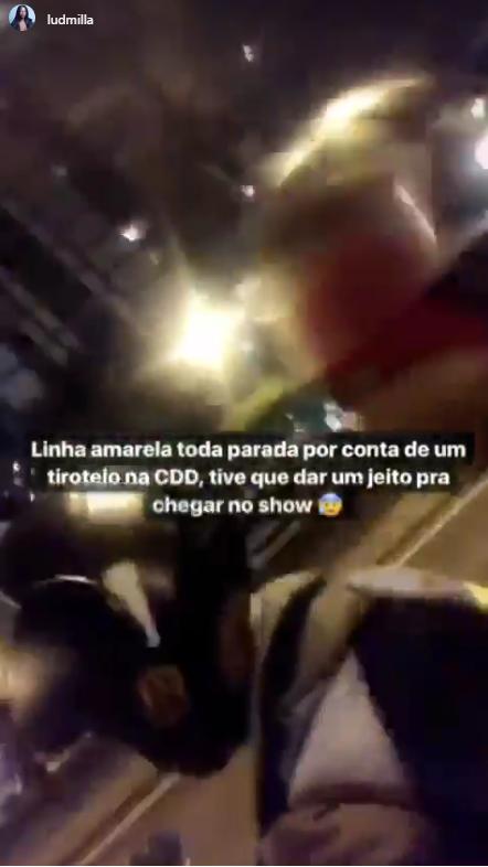 Ludmilla (Foto: Reprodução/Instagram Stories)