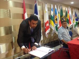 Alcir Matos, presidente da Adap (Foto: Abinoan Santiago/G1)