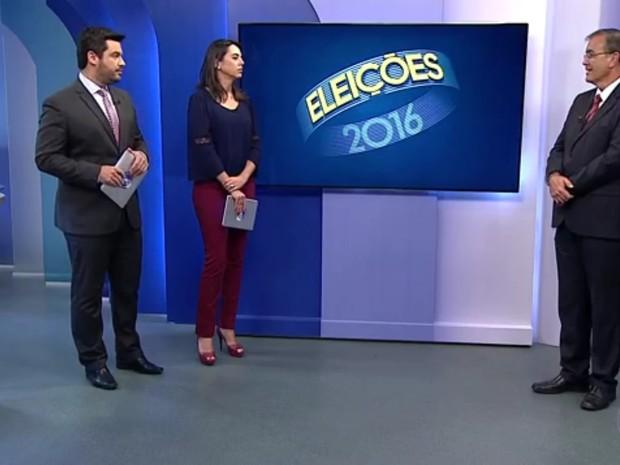 Crespo foi entrevistado nesta segunda-feira (31) (Foto: Reprodução/TV TEM)