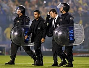 Confusão - River Plate x Boca JUniors (Foto: Reuters)