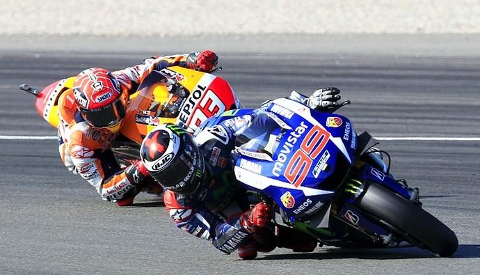 Jorge Lorenzo Marc Marquez MotoGP (Foto: Reuters)