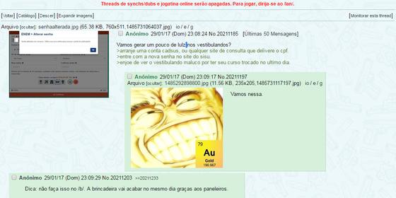 Hackers planejam ataque ao site do Sisu, em que são divulgados os resultados do Enem (Foto: Reprodução)