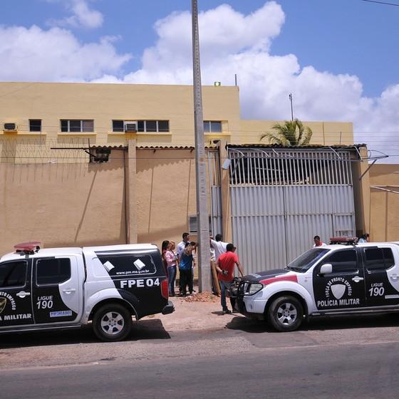 Polícia Militar do Maranhão faz inspeção no Complexo Penitenciário de Pedrinhas, em São Luís (MA) (Foto: Zé Roberto / Parceiro / Agência O Globo)