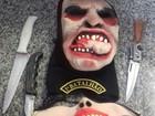 Adolescente que roubou moto em RR é detido com máscaras e facas