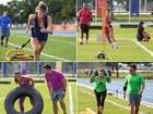 Anitta, Gio Ewbank, Vivi Araújo... Veja três séries de exercícios feitos pelas famosas