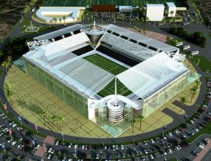 Projeto dispõe de arena multiuso e estádio para 30 mil pessoas (Foto: Divulgação)