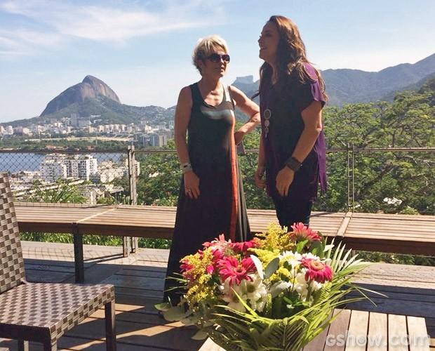 Mansão da cantora fica no Rio de Janeiro (Foto: Mais Você / TV Globo)