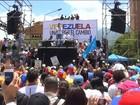 Venezuelanos protestam contra a prisão de líderes da oposição