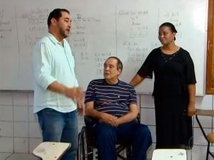 Necessidades especiais nas Eleições (Foto: Reprodução/TV Bahia)