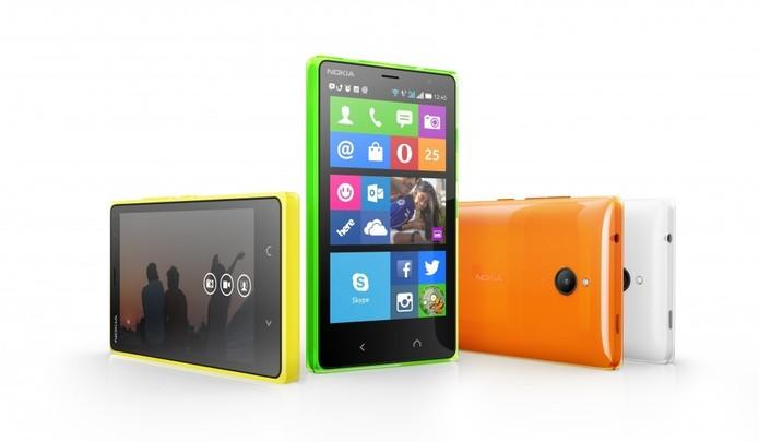 Nokia X2, com Android, recebeu melhorias na tela e no desempenho (Foto: Divulgação/Microsoft)