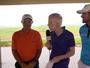 Ex-jogador de Flamengo, Vasco e Grêmio, Tita vira caddie no golfe