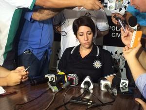 Delegada caso Bernardo Boldrini Três Passos (Foto: Fabio Almeida/RBS TV)