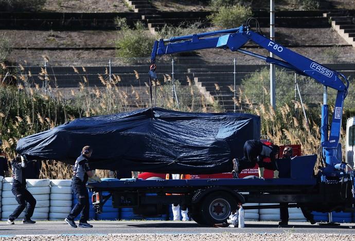 Daniel Ricciardo RBR testes jerez de la frontera (Foto: Agência Getty Images)