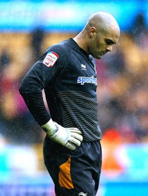 Carl Ikeme, Wolverhampton Wanderers X Bristol City (Foto: Getty Images)