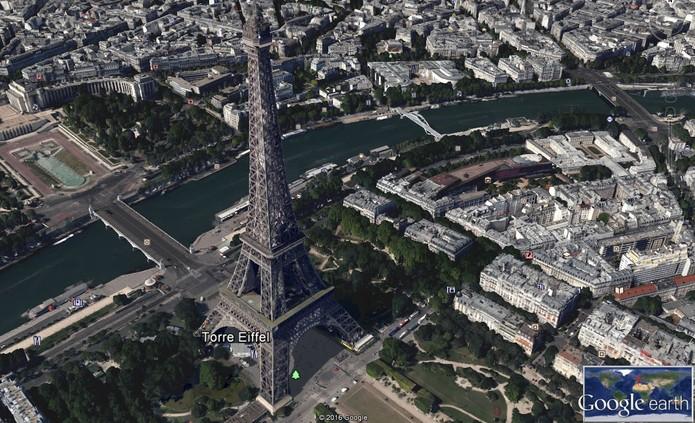 Veja todas as cidades em 3D no Google Earth (Foto: Reprodução/Barbara Mannara)