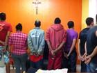 Oito pessoas são presas por suspeita de tráfico e homicídio em Bocaiuva