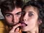Rafael Vitti e Julia Oristanio fazem graça em foto postada na web