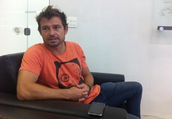 Rodrigo Beckham, boavista (Foto: Gustavo Garcia / GloboEsporte.com)