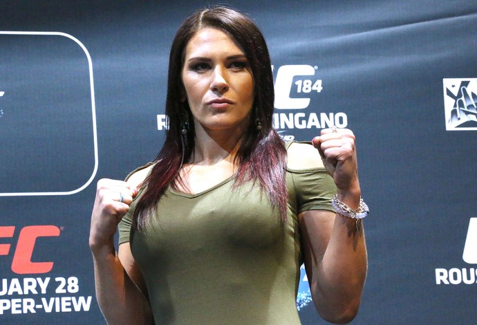 Cat Zingano, Media Day UFC 184 (Foto: Evelyn Rodrigues)