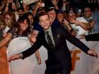 Justin Timberlake se diverte em festival de cinema no Canadá