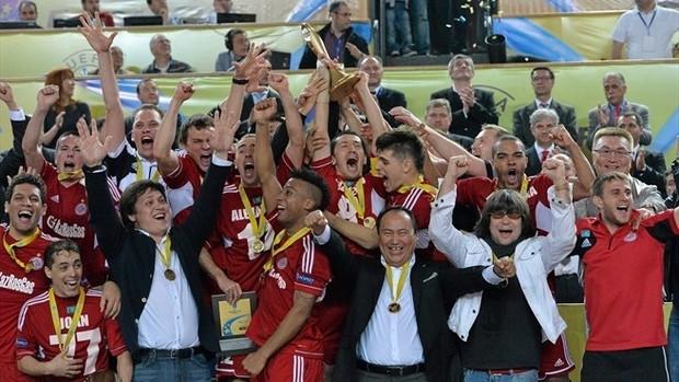 Liga dos Campeões da Europa de futsal Kairat Dinamo de Moscou (Foto: Divulgação)