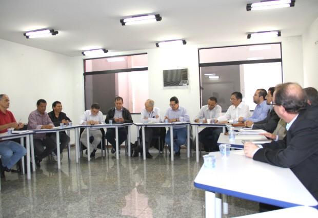 Reunião impasse na GM (Foto: Carlos Santos/G1)