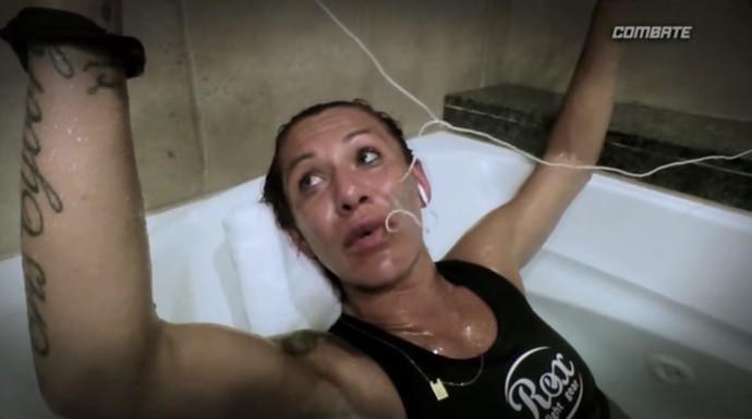 Cris cyborg corte de peso (Foto: Reprodução/ YouTube)