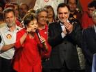 Dilma participa de comício de Patrus em Belo Horizonte