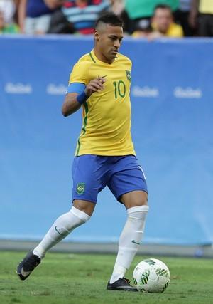 Neymar Brasil x Africa do Sul (Foto: AP)