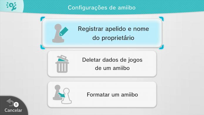Registrar um apelido e nome de proprietário (Foto: Reprodução/Murilo Molina)