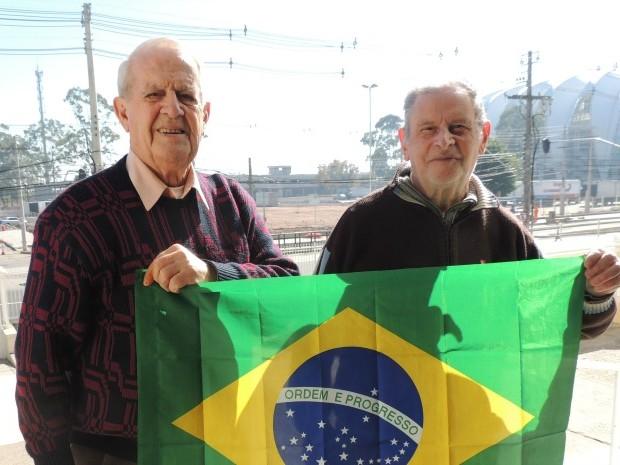 Idosos Asilo Padre Cacique Porto Alegre (RS) (Foto: Rafaella Fraga/G1)