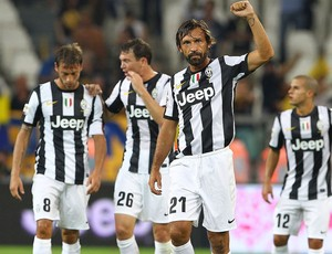 Pirlo, Juventus x Parma (Foto: Agência Getty Images)