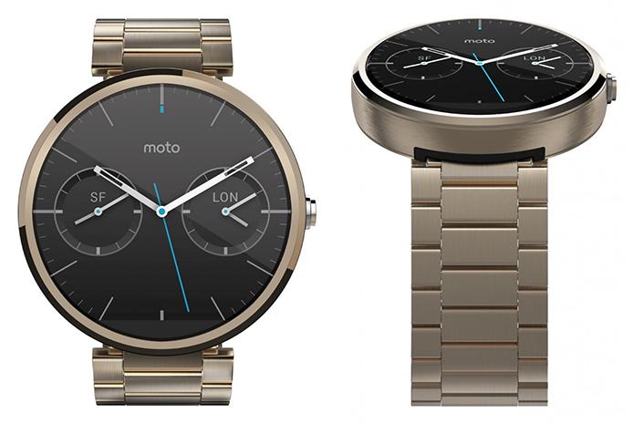 Moto 360 vai ganhar versão dourada (Foto: Reprodução)