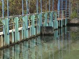 Dmae adota ações para garantir abastecimento de água em Uberlândia (Foto: Reprodução/TV Integração)