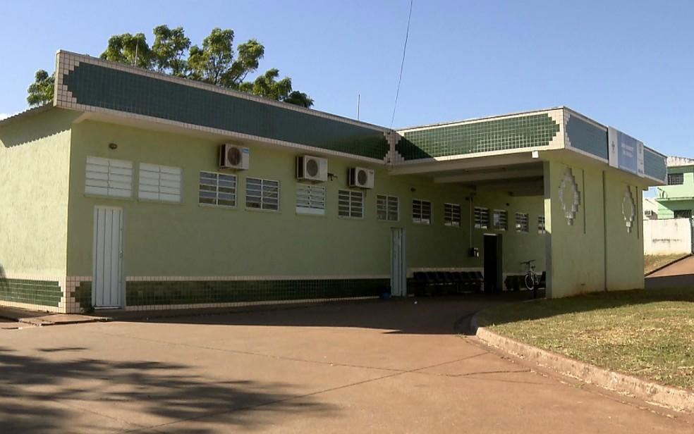 Fachada da Unidade Básica de Saúde no bairro Ribeirão Verde em Ribeirão Preto (Foto: Sérgio Oliveira/EPTV)
