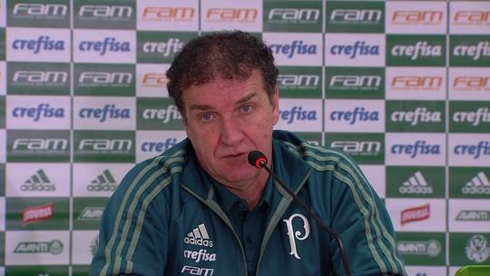 Cuca vê Palmeiras oscilando no Rio e considera empate bom resultado