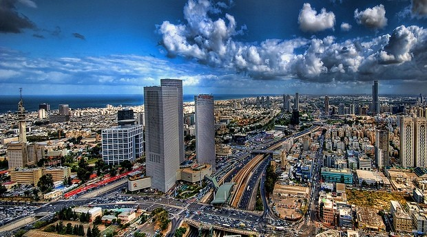 Tel Aviv, em Israel (Foto: Photo Pin)