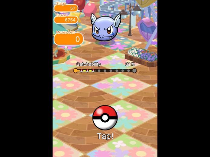 Confira dicas para jogar Pokémon Shuffle no 3DS e dispositivos móveis (Foto: Reprodução/Felipe Vinha)