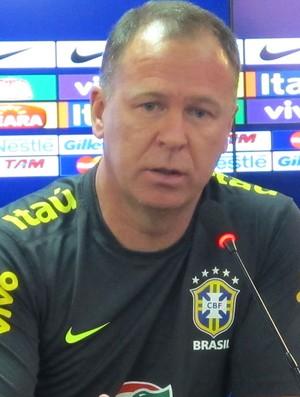 Coletiva Mano Menezes, Seleção (Foto: Rodrigo Faber / Globoesporte.com)