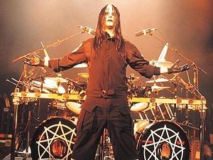 O baterista Joey Jordinson, da banda de heavy metal Slipknot. (Foto: Divulgação)