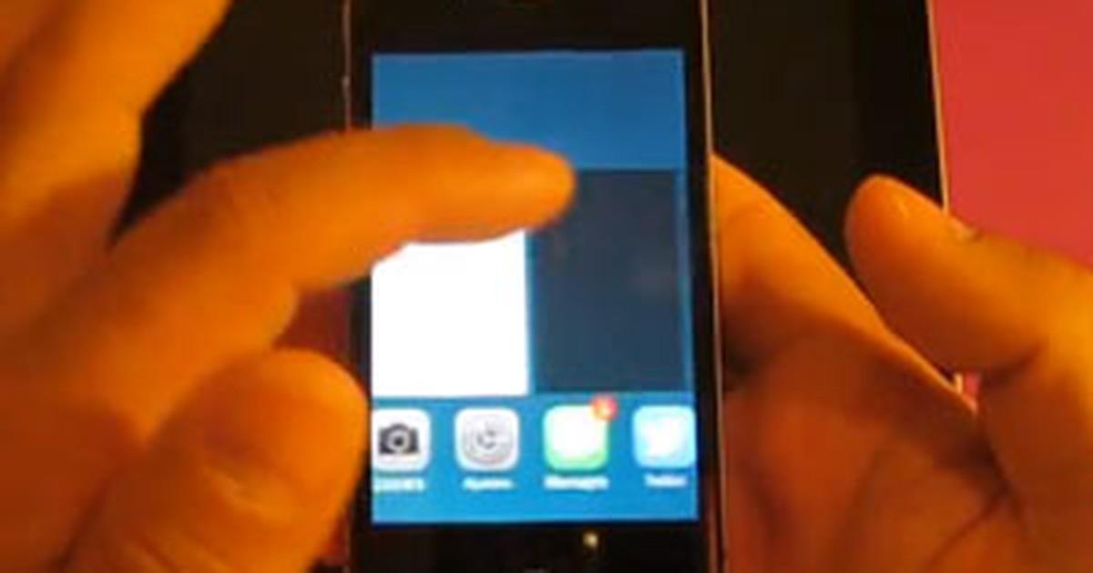 Falha no iOS 7, do iPhone, permite ver fotos pessoais sem usar senha