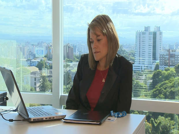 Karin Leitzke empreendedorismo Bom dia Brasil  (Foto: Reprodução/RBS TV)