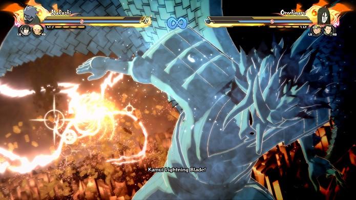 O gráfico de Naruto SUNS 4 é muito bom (Foto: Reprodução/ Bernardo Dabul)