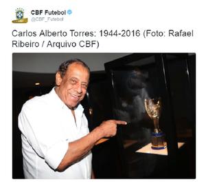 Torres Twitter CBF (Foto: Reprodução/Twitter)